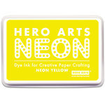 Hero Arts - Dye Ink Pad - Neon Yellow