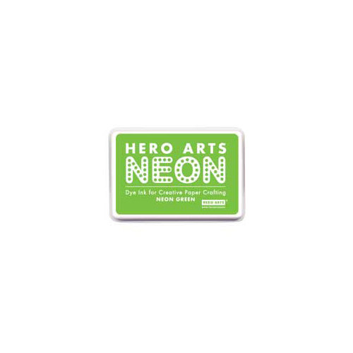 Hero Arts - Dye Ink Pad - Neon Green