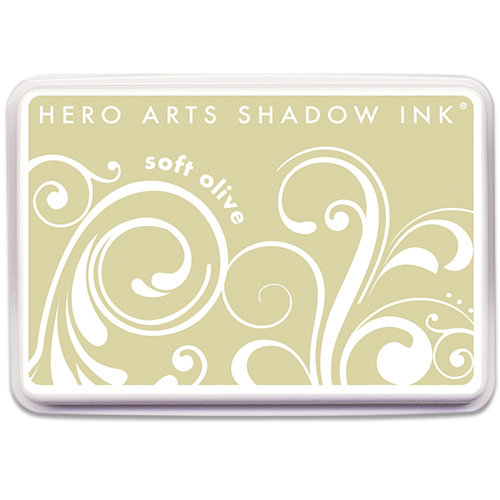 Hero Arts - Dye Ink Pad - Shadow Ink - Soft Olive