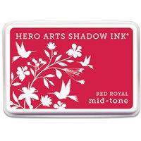 Hero Arts - Dye Ink Pad - Shadow Ink - Mid-Tone - Red Royal