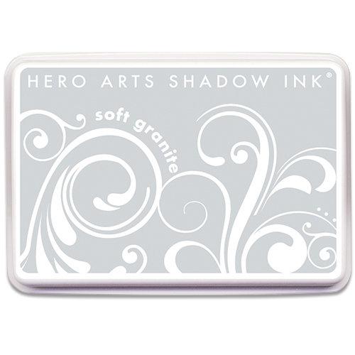Hero Arts - Dye Ink Pad - Shadow Ink - Soft Granite
