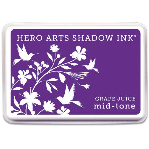 Hero Arts - Dye Ink Pad - Shadow Ink - Mid-Tone - Grape Juice