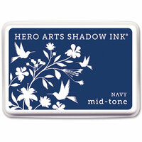 Hero Arts - Dye Ink Pad - Shadow Ink - Mid-Tone - Navy