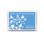 Hero Arts - Dye Ink Pad - Shadow Ink - Mid-Tone - Cornflower
