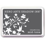 Hero Arts - Dye Ink Pad - Shadow Ink - Mid-Tone - Charcoal
