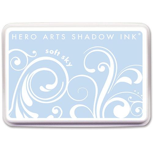 Hero Arts - Dye Ink Pad - Shadow Ink - Soft Sky