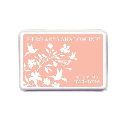 Hero Arts - Dye Ink Pad - Shadow Ink - Mid-Tone - Fresh Peach