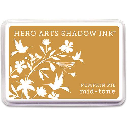 Hero Arts - Dye Ink Pad - Shadow Ink - Mid Tone - Pumpkin Pie