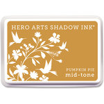 Hero Arts - Dye Ink Pad - Shadow Ink - Mid Tone - Pumpkin Pie