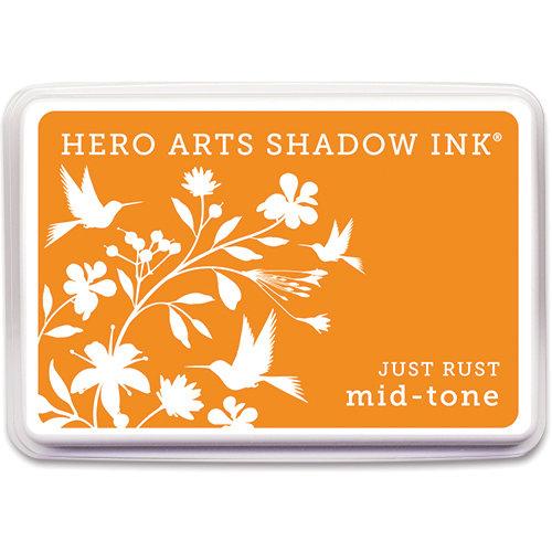 Hero Arts - Dye Ink Pad - Shadow Ink - Mid Tone - Just Rust