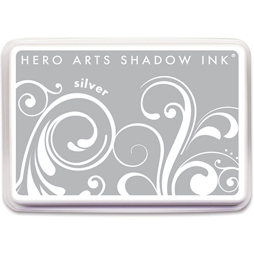Hero Arts - Dye Ink Pad - Shadow Ink - Silver