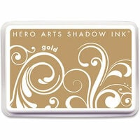 Hero Arts - Dye Ink Pad - Shadow Ink - Gold