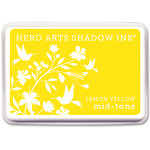 Hero Arts - Dye Ink Pad - Shadow Ink - Mid Tone - Lemon Yellow