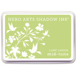 Hero Arts - Dye Ink Pad - Shadow Ink - Mid Tone - Lime Green