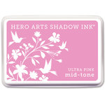 Hero Arts - Dye Ink Pad - Shadow Ink - Mid Tone - Ultra Pink