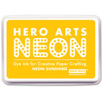 Hero Arts - Dye Ink Pad - Neon Sunshine