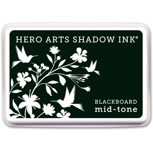 Hero Arts - Dye Ink Pad - Shadow Ink - Mid Tone - Blackboard