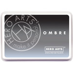 Hero Arts - Ombre Ink Pad - Gray to Black