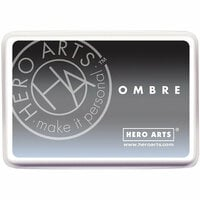 Hero Arts - Ombre Ink Pad - Granite to Black