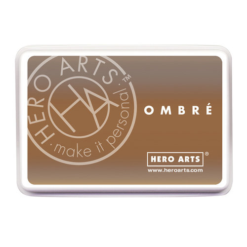 Hero Arts - Ombre Ink Pad - Soft Brown to Cup O
