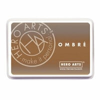 Hero Arts - Ombre Ink Pad - Soft Brown to Cup O' Joe
