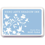 Hero Arts - Dye Ink Pad - Shadow Ink - Mid-Tone - Dusty Blue