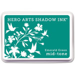 Hero Arts - Dye Ink Pad - Shadow Ink - Mid-Tone - Emerald Green