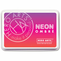 Hero Arts - Ombre Ink Pad - Neon Red to Purple
