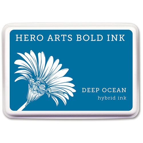 Hero Arts - Dye Ink Pad - Deep Ocean