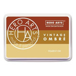 Hero Arts - Ombre Ink Pad - Vintage Metallic Rust