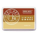 Hero Arts - Ombre Ink Pad - Vintage Metallic Rust