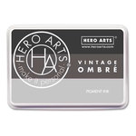 Hero Arts - Ombre Ink Pad - Vintage Metallic Steel
