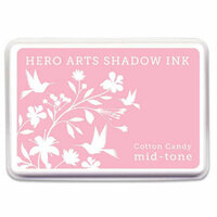 Hero Arts - Dye Ink Pad - Shadow Ink - Mid-Tone - Cotton Candy