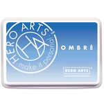 Hero Arts - Ombre Ink Pad - Soft Sky to Indigo