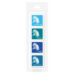 Hero Arts - Ink Cubes Pack - Bold - Tropical Waters