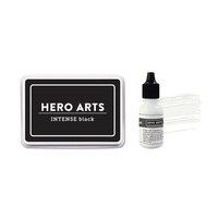 Hero Arts - Intense Black Ink and Reinker Bundle