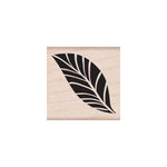Hero Arts - Woodblock - Wood Mounted Stamps -Tropical Leaf