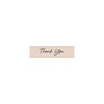 Hero Arts - Woodblock - Wood Mounted Stamps - Thank You