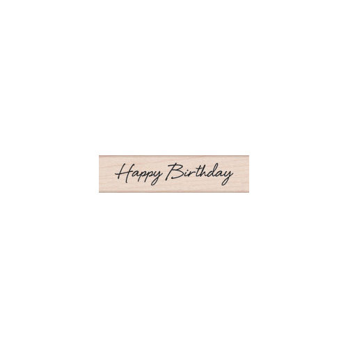 Hero Arts - Woodblock - Wood Mounted Stamps - Happy Birthday