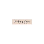 Hero Arts - Woodblock - Wood Mounted Stamps -Thinking of You Script