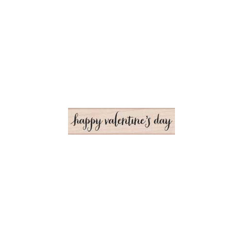 Hero Arts - Woodblock - Wood Mounted Stamps - Happy Valentine's Day