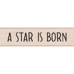 Hero Arts - Woodblock - Wood Mounted Stamps - A Star is Born