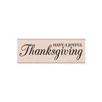Hero Arts - Woodblock - Wood Mounted Stamps - Have a Joyful Thanksgiving