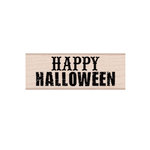 Hero Arts - Woodblock - Wood Mounted Stamps - Happy Halloween