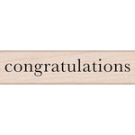 Hero Arts - Everyday Collection - Woodblock - Wood Mounted Stamps - Congratulations