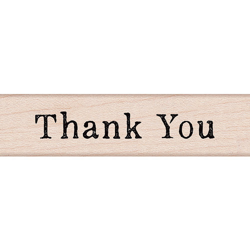 Hero Arts - Everyday Collection - Woodblock - Wood Mounted Stamps - Thank You