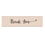 Hero Arts - Woodblock - Wood Mounted Stamps - Handwritten Thank You Script