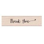 Hero Arts - Woodblock - Wood Mounted Stamps - Handwritten Thank You Script