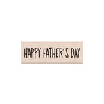 Hero Arts - Woodblock - Wood Mounted Stamps - Happy Father's Day