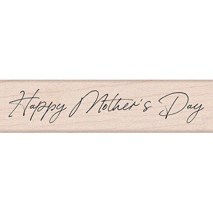 Hero Arts - Woodblock - Wood Mounted Stamps - Handwritten Mother's Day